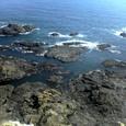 岬の下の磯