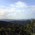 伊座利峠から阿南市街方向を望む