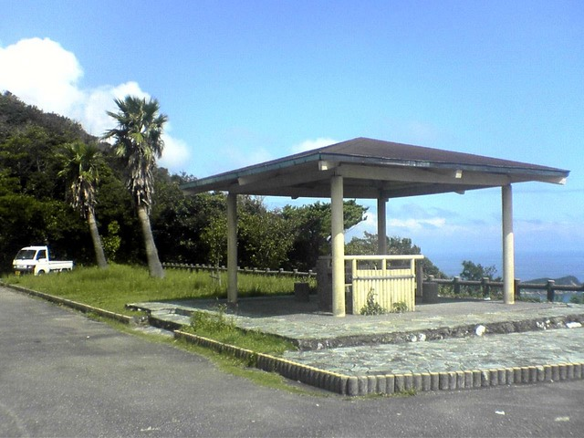展望台の休憩所