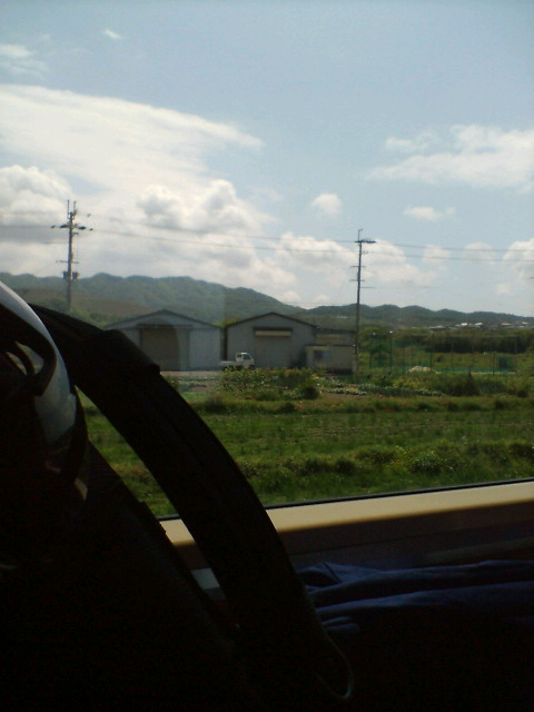 徳島に向かって